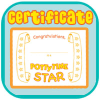 Download and print your own Potty Training Success Certificate